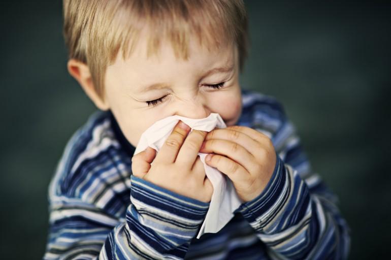 Vaikų ir kūdikių gripas